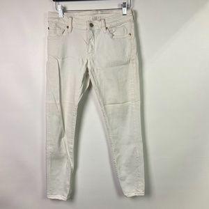 DENIM & SUPPLY RALPH LAUREN Women Sz 28 White Jean